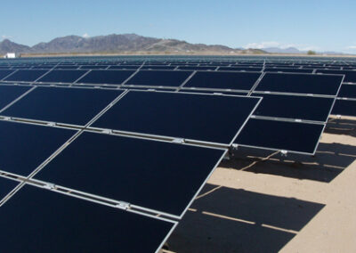 120-Acre, 22 MW Photovoltaic (P.V.) Solar Project