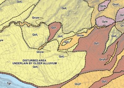 Geologic GIS for Greenspot Development Feasibility Report