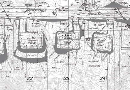 Tract No. 22743 (59-Lot  Hillside Subdivision)