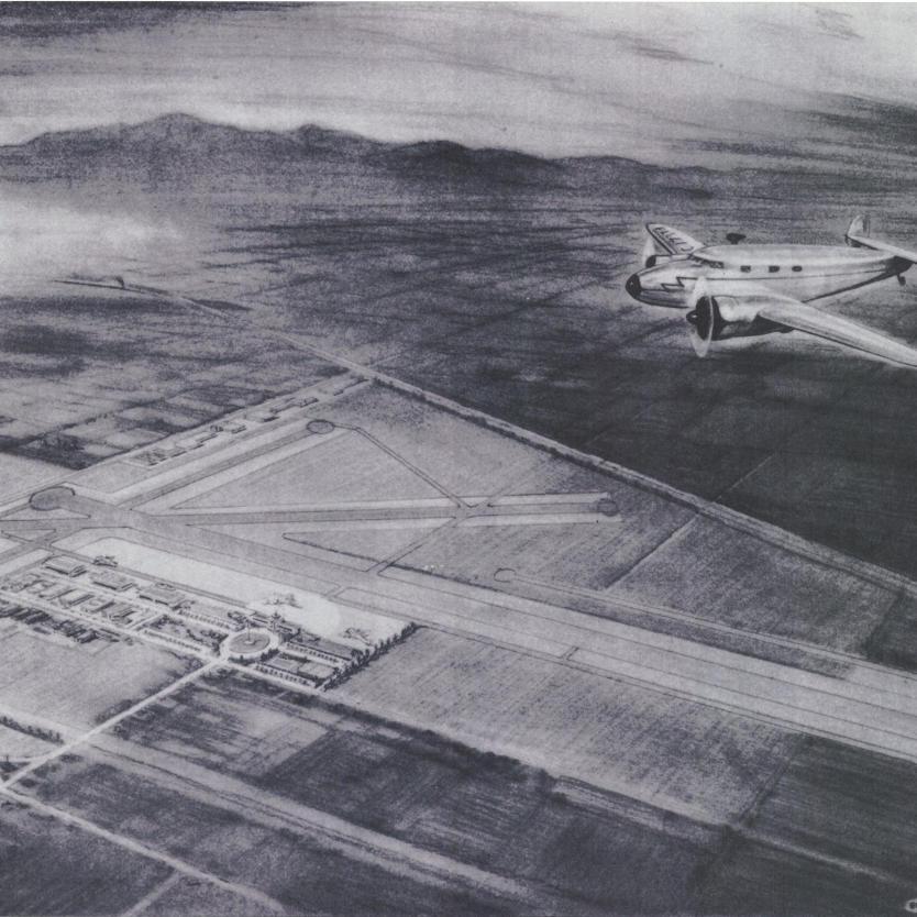1950 Ontario Airport