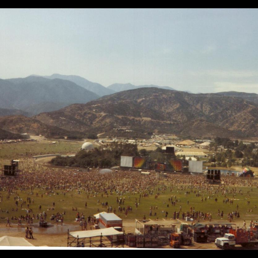 1982 US Festival Glen Helen Park Devore CA